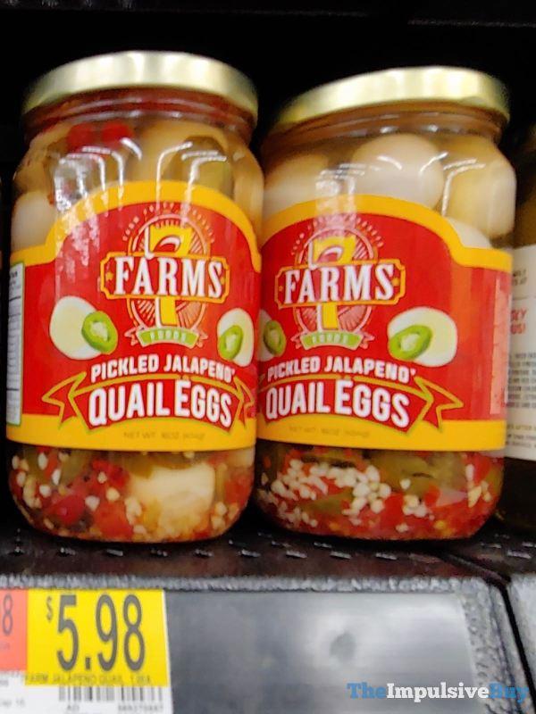 7 Farms Pickled Jalapeno Quail Eggs