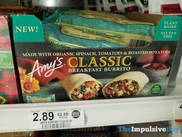 Amy s Classic Breakfast Burrito
