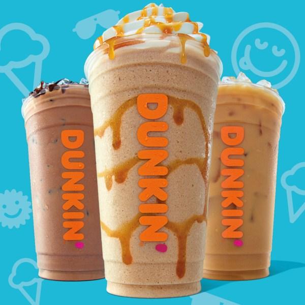 Dunkin 2019 Ice Cream Inspired Flavors