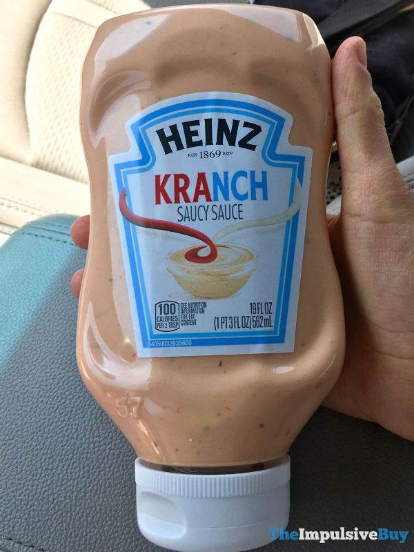 Heinz Kranch Saucy Sauce
