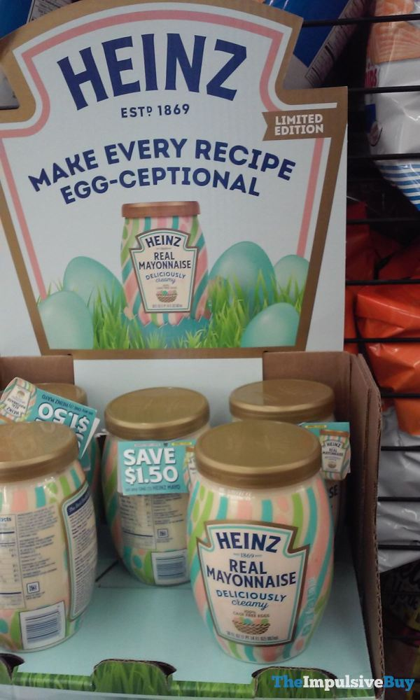 Heinz Limited Edition Real Mayonnaise Easter Design