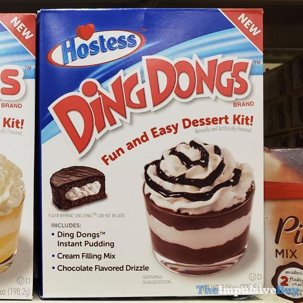 Hostess Ding Dongs Dessert Kit