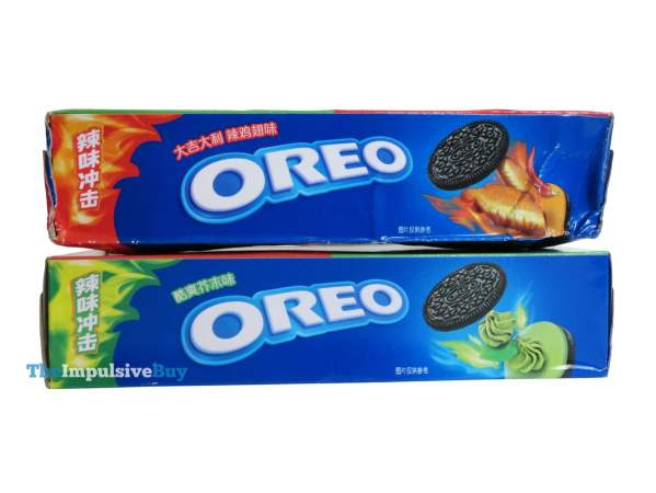 Hot Chicken Wing Oreo Cookies and Wasabi Oreo