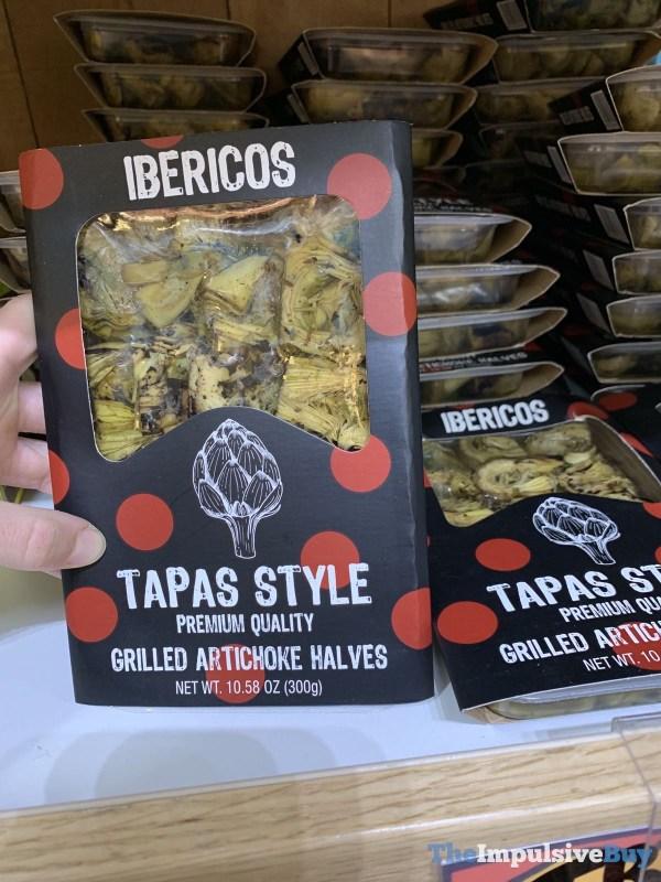 Ibericos Tapas Style Grilled Artichoke Halves