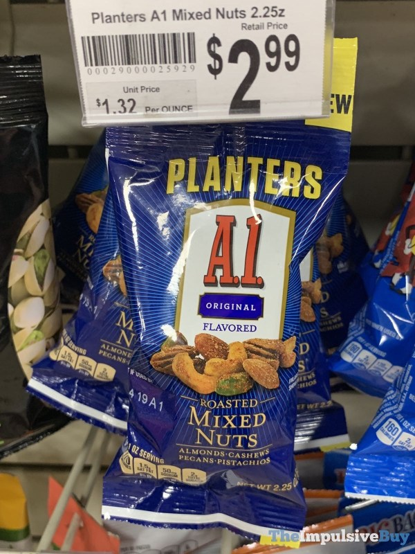 Planters A 1 Original Roasted Mixed Nuts