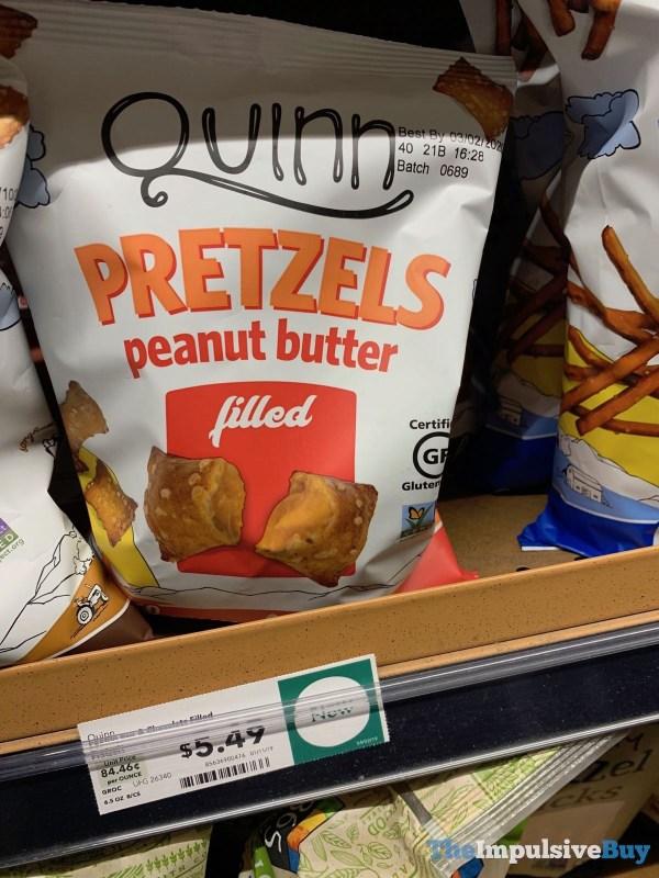 Quinn Peanut Butter Filled Pretzels