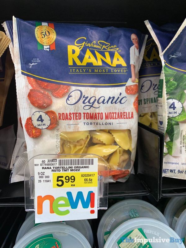 Rana Organic Roasted Tomato Mozzarella Tortelloni