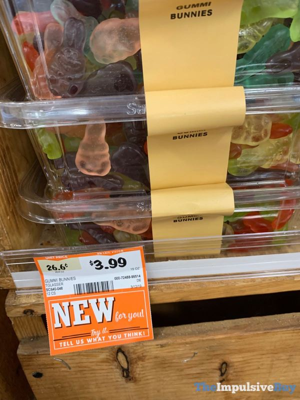 Sprouts Bulk Gummi Bunnies
