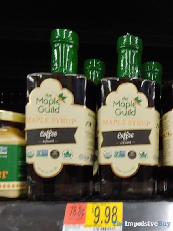 The Maple Guild Coffee Infused Maple Syrup