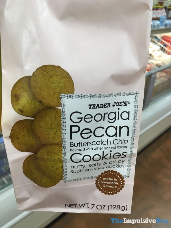 Trader Joe s Georgia Pecan Butterscotch Chip Cookies
