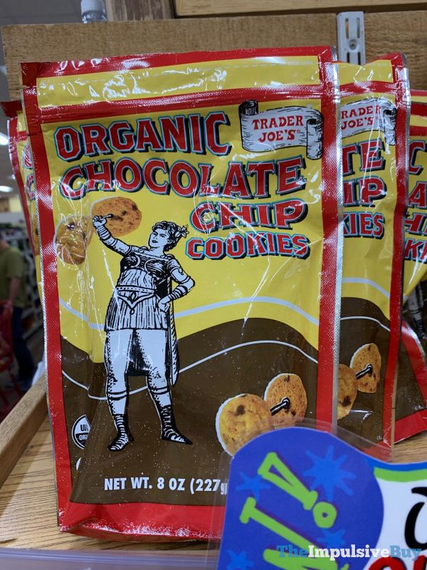 Trader Joe s Organic Chocolate Chip Cookies