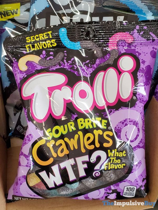 Trolli Sour Brite Crawlers WTF What the Flavor