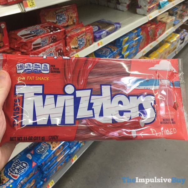 Twizzlers Strawberry Smoothie
