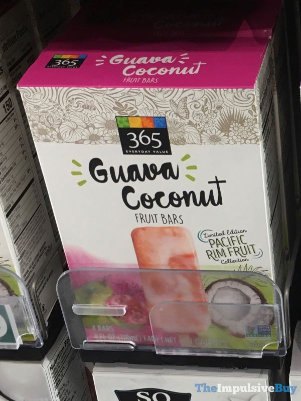 365 Everyday Value Guava Coconut Fruit Bars