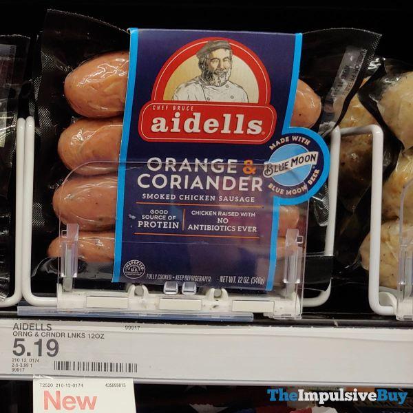 Aidells Orange  Coriander Smoked Chicken Sausage