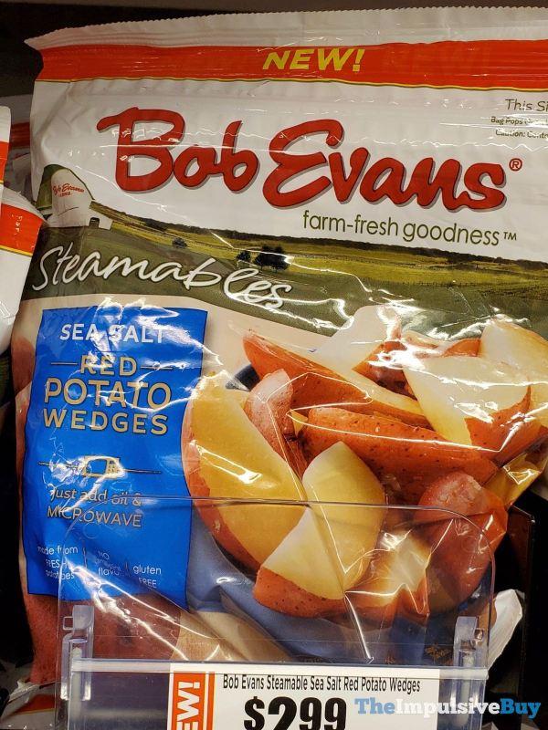 Bob Evans Steamables Sea Salt Red Potato Wedges