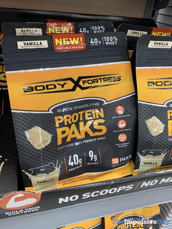 Body Fortress Vanilla Protein Paks