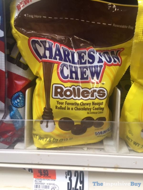 Charleston Chew Rollers