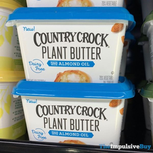 Country Crock Plant Butter Made with Almond Oil