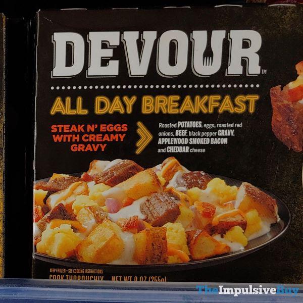 Devour All Day Breakfast Steak N Eggs with Creamy Gravy