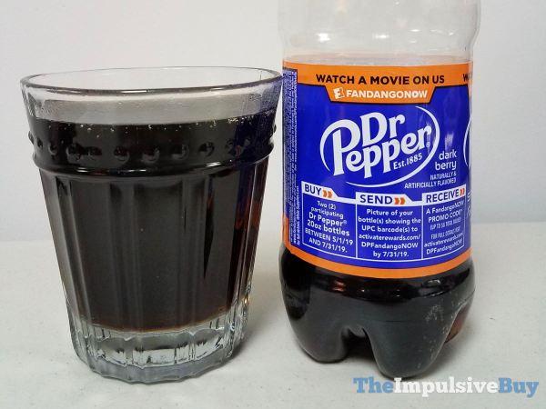 Dr Pepper Dark Berry Ticket Deal
