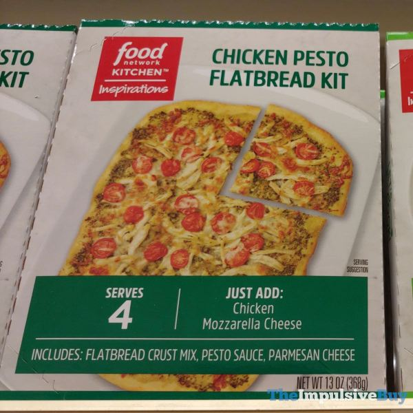 Food Network Kitchens Inspirations Chicken Pesto Flatbread Kit
