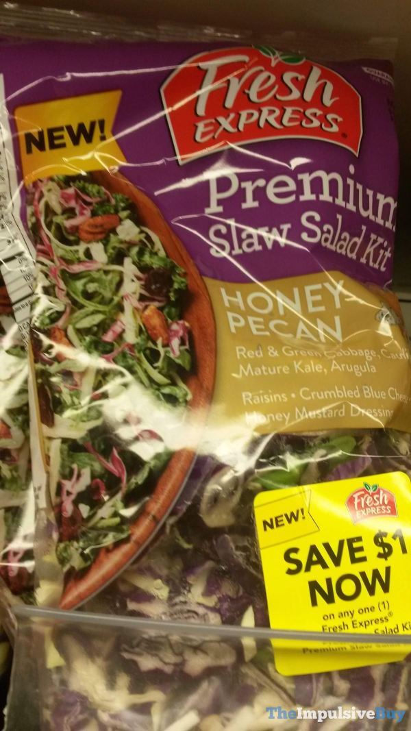Fresh Express Premium Slaw Salad Kit Honey Pecan