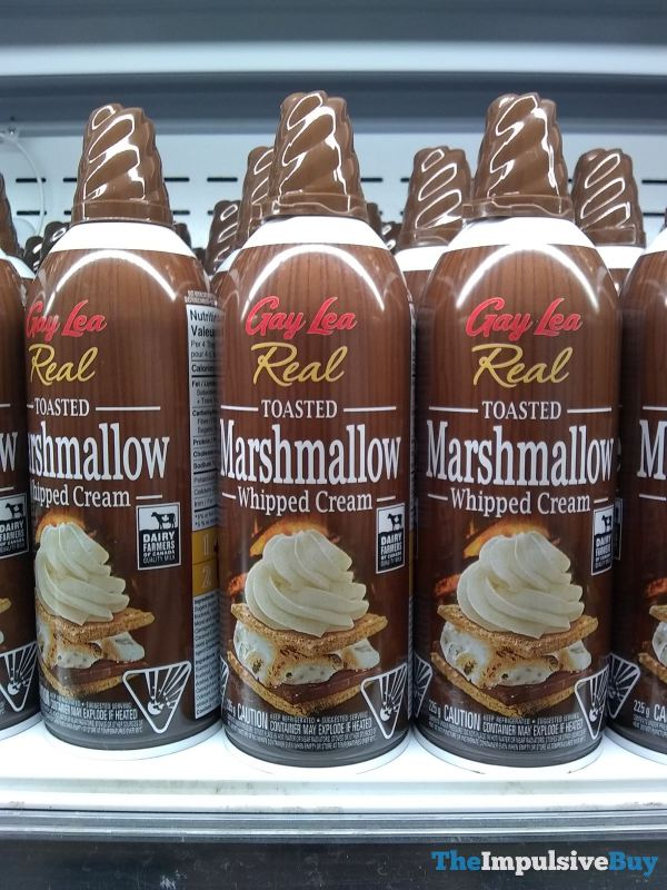 Gay Lea Real Toasted Marshmallow Whipped Cream