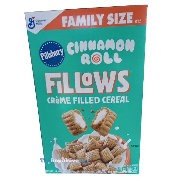 General Mills Fillows Pillsbury Cinnamon Roll Cereal