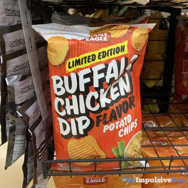 Giant Eagle Limited Edition Buffalo Chicken Dip Potato Chips