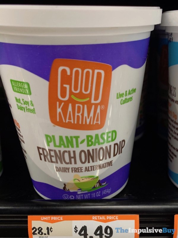 Good Karma Plant Based French Onion Dip