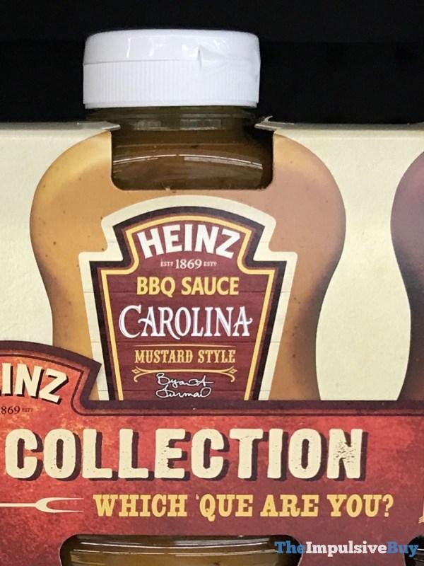 Heinz Carolina Mustard Style BBQ Sauce  2017 Design