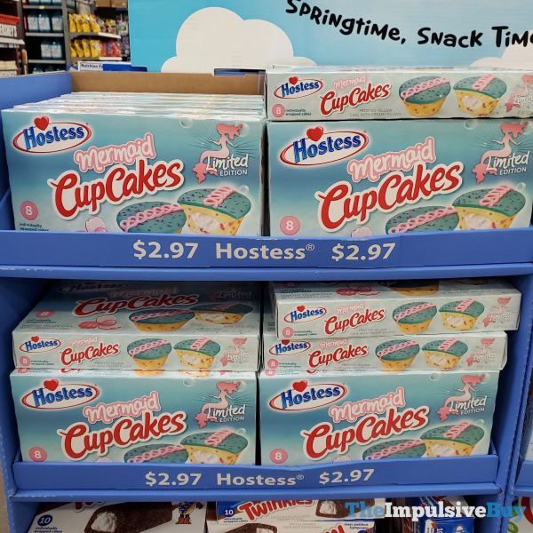 Hostess Limited Edition Mermaid CupCakes