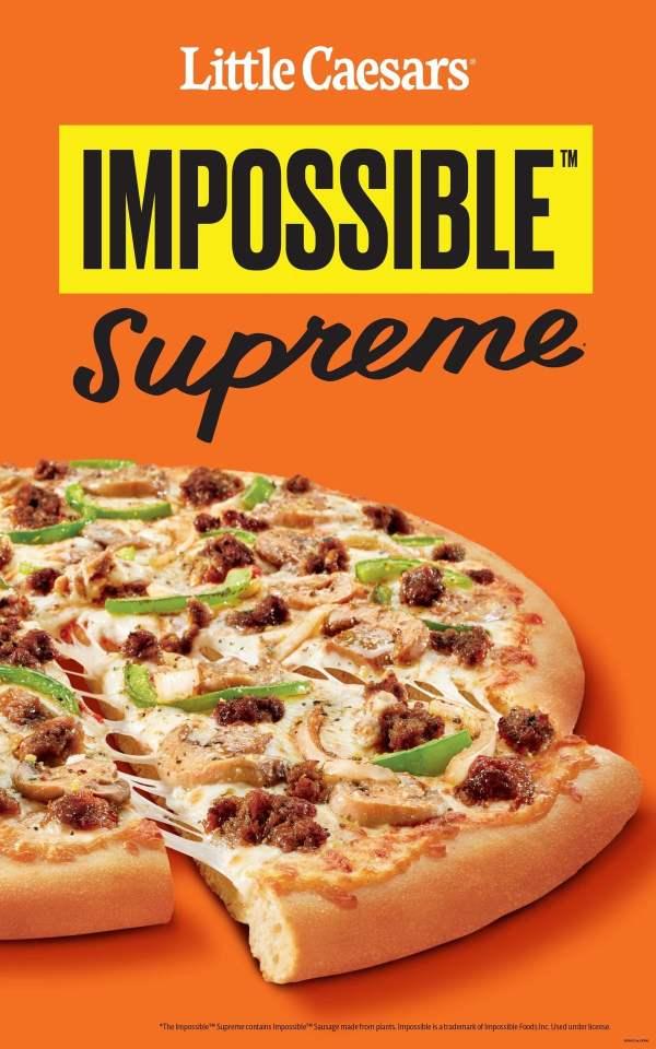 Little Caesars Impossible Supreme Pizza