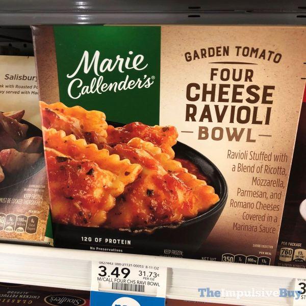 Marie Callender s Garden Tomato Four Cheese Ravoli Bowl