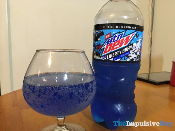 Mtn Dew Liberty Brew Glass