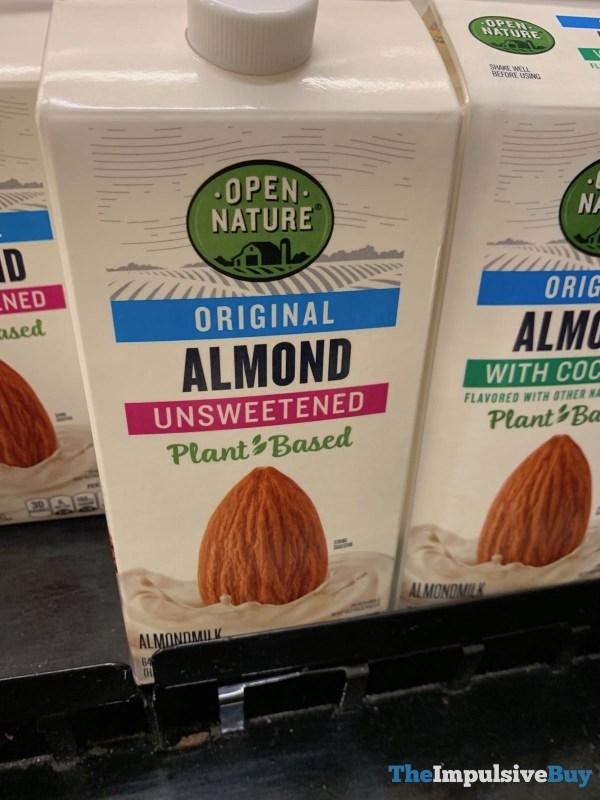 Open Nature Original Almondmilk Unsweetened