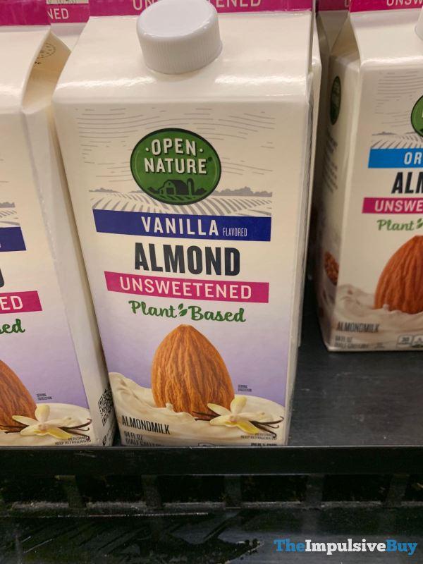 Open Nature Vanilla Almonmilk Unsweetened