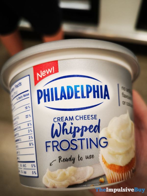 Philadelphia Cream Cheese Whipped Frosting