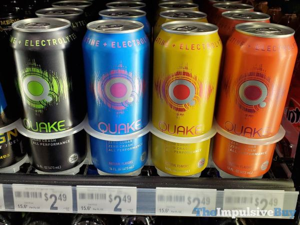 Quake Energy Drinks