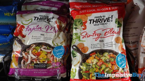 Read to Thrive Vegetables Fajita Mix and Stir Fry Blend