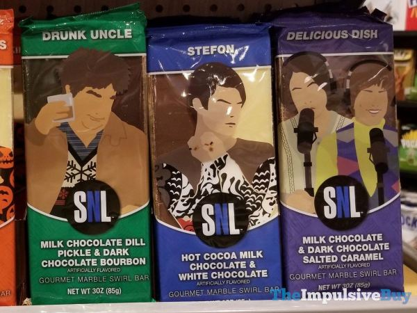 SNL Gourmet Marble Swirl Bars  Drunk Uncle Stefon and Delicious Dish
