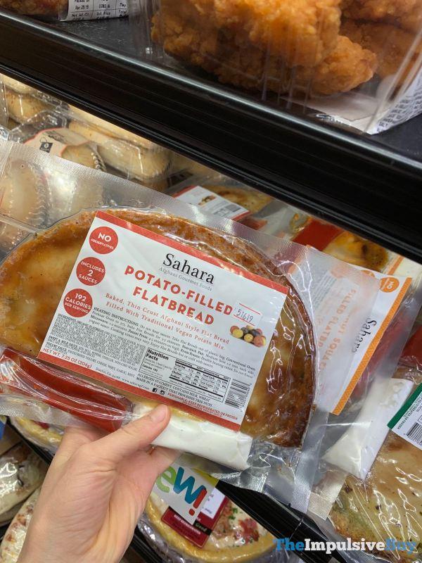 Sahara Potato Filled Flatbread