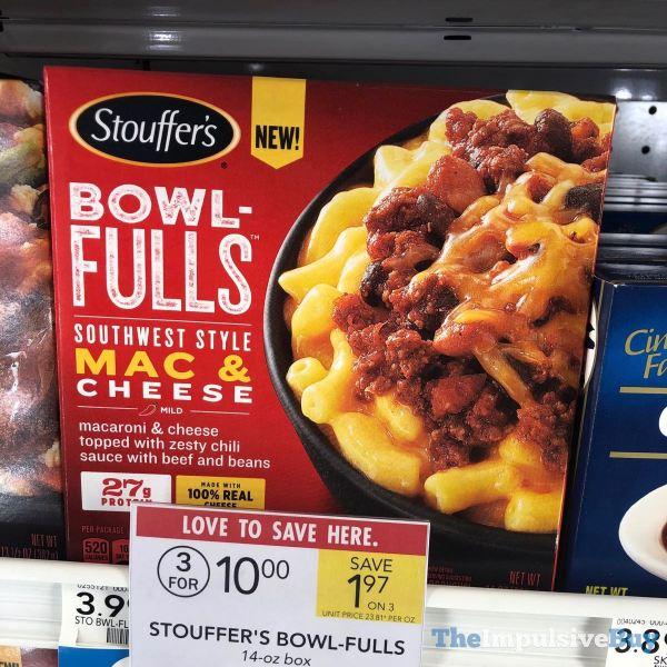 Stouffer s Bowlfulls Southwest Style Mac  Cheese