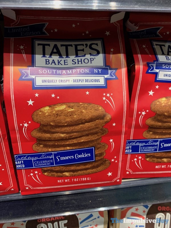 Tate s Bake Shop Limited Edition S mores Cookies