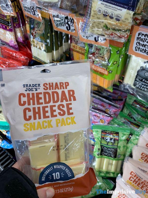 Trader Joe s Sharp Cheddar Cheese Snack Packs