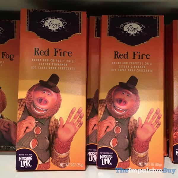 Vosges Missing Link Red Fire Bar