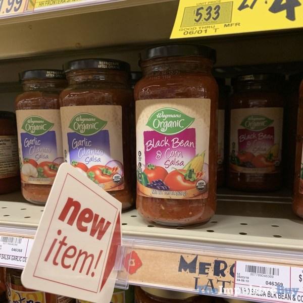 Wegmans Organic Garlic Cilantro and Black Bean  Corn Salsa