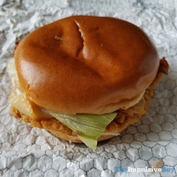 Wendy s S Awesome Bacon Chicken Sandwich