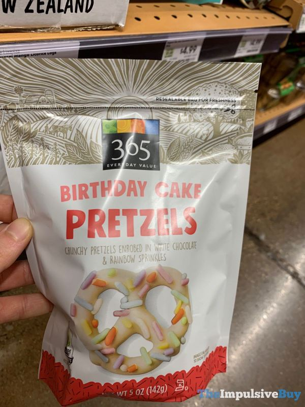 365 Everyday Value Birthday Cake Pretzels